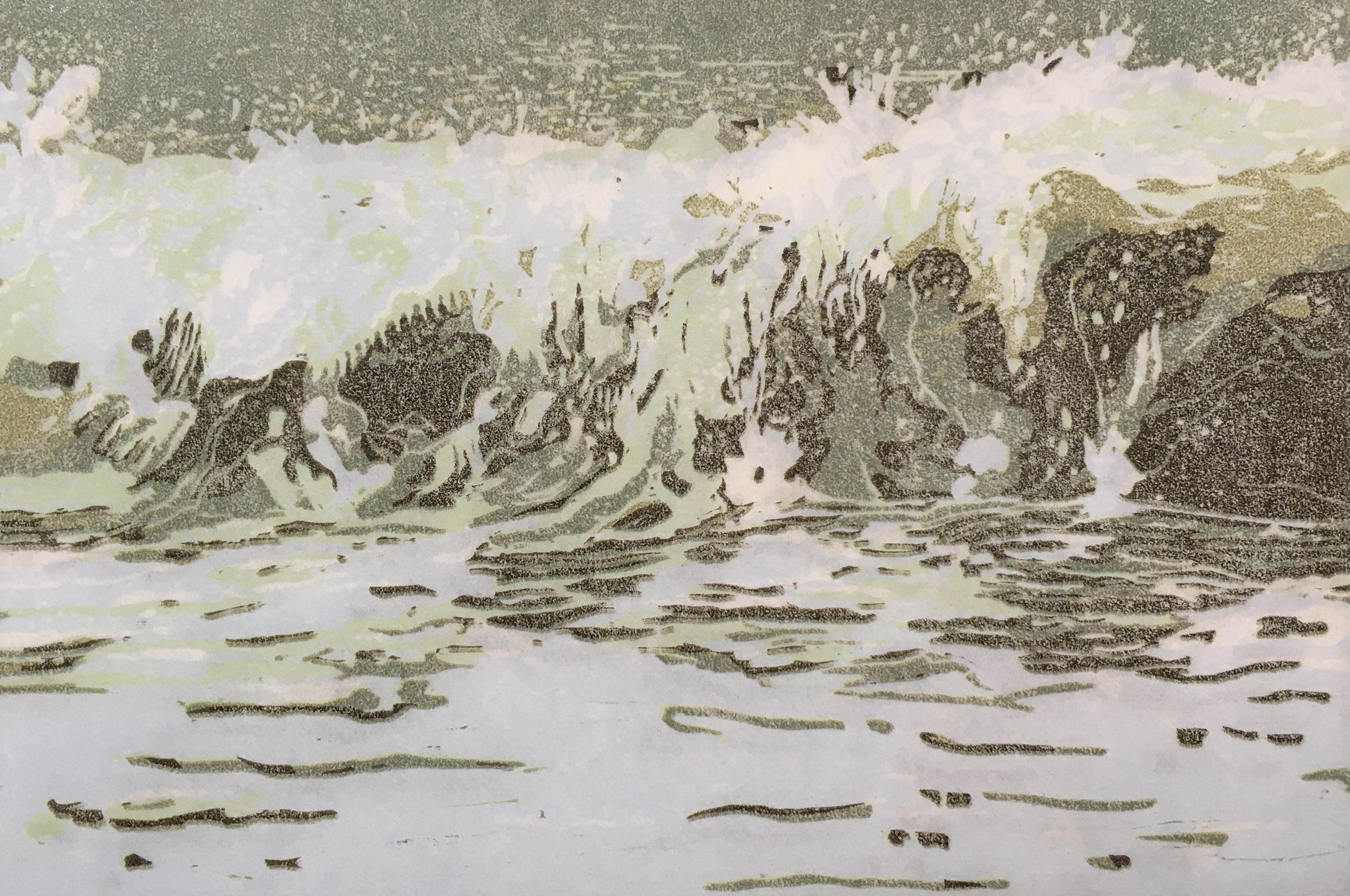 A Turbulent Sea III