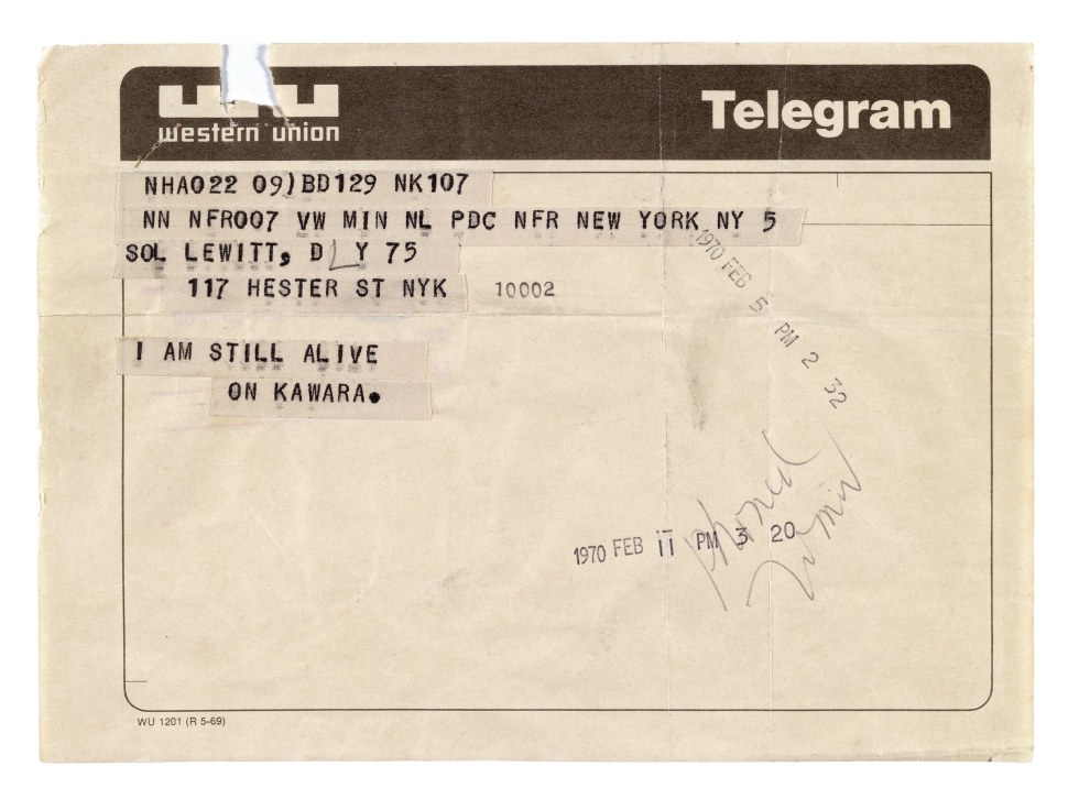 art-on-kawara-telegram-to-sol-lewitt-i-am-still-alive-4